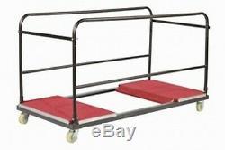 Chariot Pour Tables Rondes Banquet. Heavy Duty Commercial Chariot Transporteur