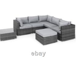 Chelsea Corner Sofa Set Gris