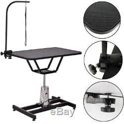 Chien Animaux Toilettage Table De Bain Bras Réglable En Hauteur Non Glissant Dessus De Table Col De Goeck Royaume-uni