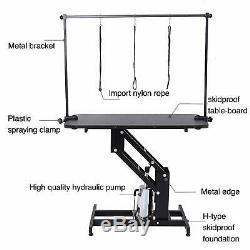 Chien Extra Large Hydraulique Toilettage Pour Animaux Table Avec H Bar Arm 3 Leash Heavy Duty