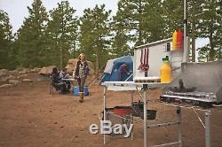 Coleman Camp Packaway Cuisine Pliante Voyage Portable Set Camping Cuisine Nouveau