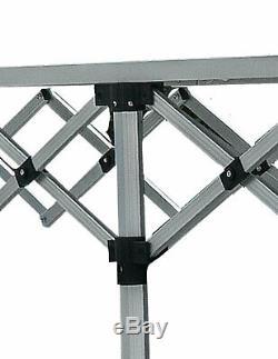 Commerce Table MCD Contre 3m Heavy Duty Pop Up Aluminium Top Étal De Marché