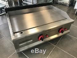 Cuisine Professionnelle Plaque De Cuisson Gaz Table Crêpière Heavy Duty 80cm Burger Grill