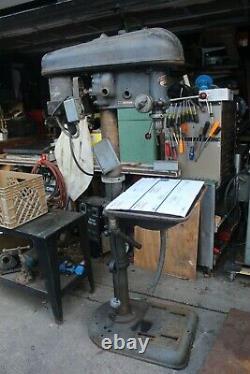 Delta 17 Drill Press Table Bed Riser Gear Mechanism, Rail, Colonne 3 1/2 Dia