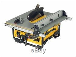 Dewalt Dw745 Heavy Duty Légère Scie À Table De 240v