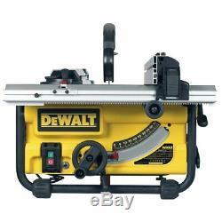 Dewalt Dw745 Table Saw Heavy Duty Légère 250mm 110v
