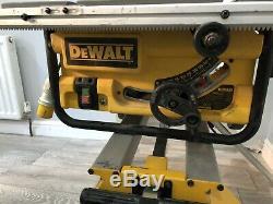 Dewalt Dw745lx Scie À Table Heavy Duty Légère 10 / 250mm 110v