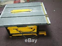 Dewalt Dw745lx Scie À Table Heavy Duty Légère 110v