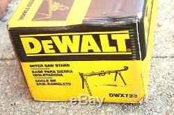 Dewalt Dwx723 Heavy Duty Scie À Onglets Stand Outils Électriques Tableau Jaune