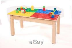 Duplo Table 32 Compatible X16 Robuste En Bois Massif Série -new-made In USA