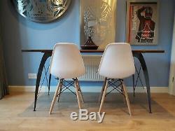 Eames Inspiré Heavy Pieds De Table En Métal Duty Faits À La Main Au Royaume-uni Et Son Design Unique