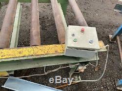 Elco Automatique 3 Phases Rouleau De Table Heavy Duty Pour Stone Saw £ 550 West Yorkshire