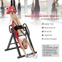 Exercice De Forme Physique De Forme Physique De Thérapie De Soulagement De Douleur De Dos De Table Résistant D'inversion Réglable