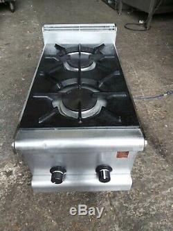 Falcon 2 Brûleurs Cuisinière Table Commerciale De Service De Lourds Haut Cuisinière Nat Gas Ou Gpl