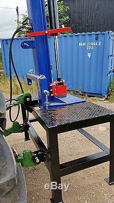 Fendeuse De Bûches Hydraulique 20 000 KG 20 Tonnes Jsa Heavy Duty. Peinture 2k Avec Table