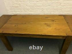 Ferme Toute Table Extensible Du Bois Franc. Très Robuste Robuste. 560 £ Au Coût