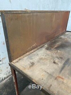 Grand Atelier Heavy Duty Établi En Bois Table Garage Mécanicien Banc De Travail
