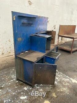 Grand Atelier Robuste En Acier Workbench Table Garage Mécanicien Banc De Travail
