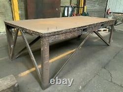 Grand Banc De Travail Table De Soudage Fabrication Heavy Duty