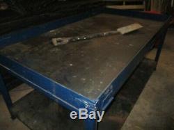 Grand Heavy Duty Atelier Métal Acier Workbench Table Garage Soudage Mécanicien