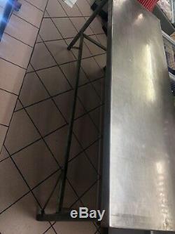 Grand Robuste Restauration Commerciale Boucheries Table En Acier Inoxydable