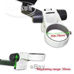 Grand Support Stéréo De Tableau De Bride Stéréo De Boom Résistant De Bras Pour Le Microscope De Dia 76mm