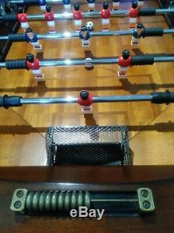 Grande Taille Qualité Heavy Duty Foosball Football Football Table En Acajou