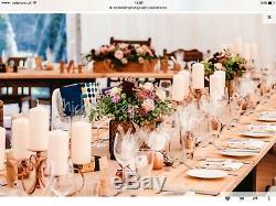 Grandes Tables Robustes, Mariage, Cuisine, Jardin, Atelier, 3m X 1.1m