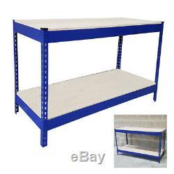 Heavy Duty 500 KG Travail Des Métaux Banc Garage Atelier Table Workbench Station S247