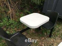 Heavy Duty 6 Et 2 Seat Cantine Fast Food Table Et Chaises