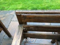 Heavy Duty De Jardin En Bois Patio Meubles, Table De 6 Pieds, 6 Chaises