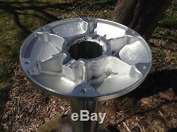 Heavy Duty Guéridon Garelik 12 Base & Top 26 Haut 4 Tube En Aluminium Nos