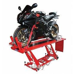 Heavy Duty Hydraulic Motorcycle Mechanics Garage Workshop Table Lift Ce Approuvé
