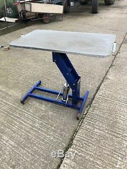 Heavy Duty Hydraulique Dog Grooming Table / Gare