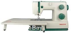 Heavy Duty Necchi Q421a Machine À Coudre + Ext Table
