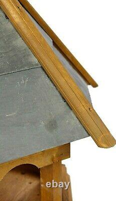 Heavy Duty Oiseaux Sauvages Wharfedale En Bois Table Par Tom Chambers Slate Roofed Table