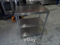 Heavy Duty Stainless Steel 3 Tier Infill Table 450 X 750 MM £100 + Cuve