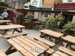 Heavy Duty Table De Jardin Et Twin Set Banc No Autoassemblage Requis