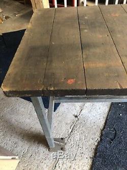 Heavy Duty Travail Industriel Banc Table Bois Acier Métal Outils De Bricolage Mécanique