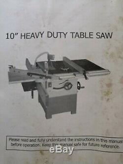 Heavy Duty (en Haut De La Fonte) De La Table De Scie À Table Roulante (pour Les Matériaux En Feuille)
