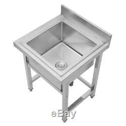 Heavyduty En Acier Inoxydable Et Évier Utilitaire Table Simple Vasque Catering Kitchen