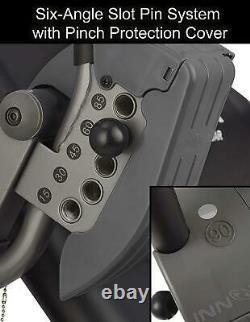 Innova Itx9700 Table D'inversion Avec Memory Foam Lumbar Pad Exercise Heavy Duty