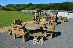 Jardin Heavy Duty Table Et Chaises 7