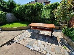 Jardin Moderne De Terrasse Extérieure, Patio, Parc, Table De Dîner De Pique-nique, Heavy Duty 180c