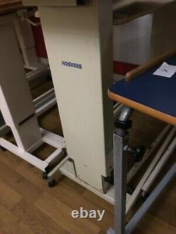 Joblot Au-dessus De La Table De Chaise De Lit Sur Des Roues Hôpital Réglable De Faisceau De Maison De Soins Infirmiers