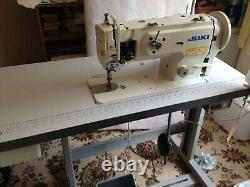 Juki Walking Foot Heavy Duty Industrial Machine À Coudre Table Et Servo Motor
