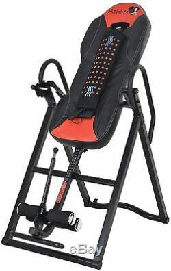 Kemket Vibro Inversion Table De Massage Et De Chaleur Robuste Jusqu'à 150 KG