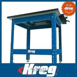 Kreg Krs1035 Atelier Polyvalent Robuste Réglable / Stand De Table Routeur