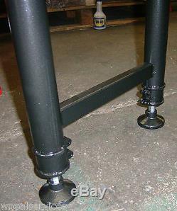 La Table Résistante De Convoyeur De Rouleau De Wns 1 Mètre Tient 400kg 4 Rouleaux Réglables
