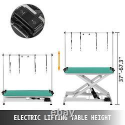 Levage Électrique Pour Animaux Toilettage Pour Chiens Tableau 440lbs Séchage Métal Résistant À L'usure